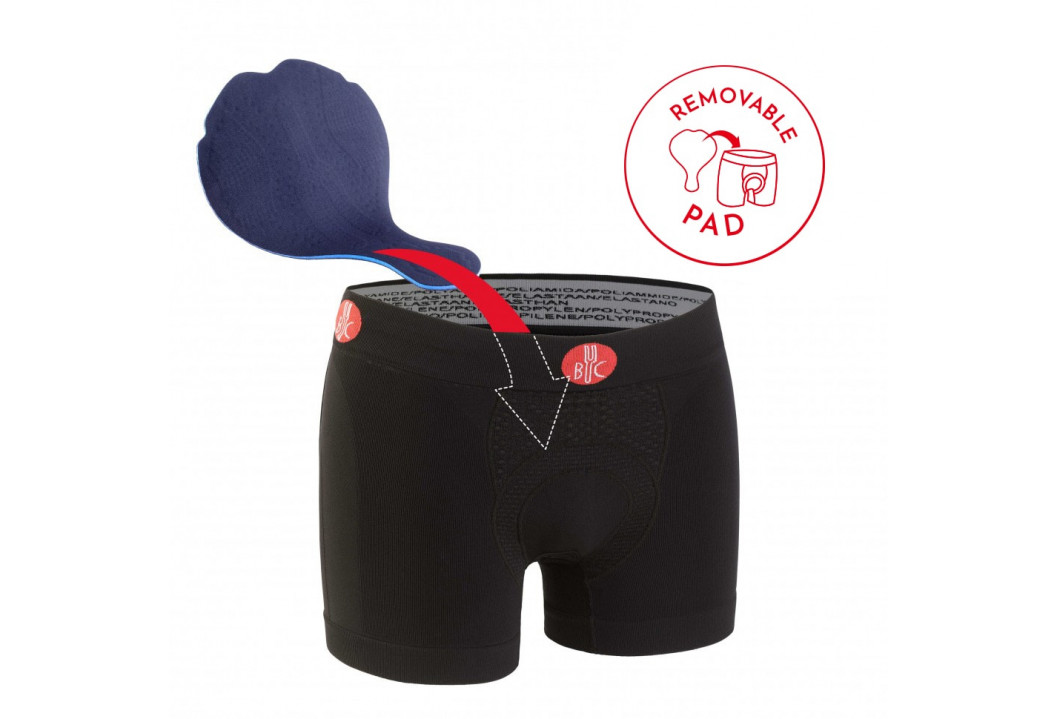 MAN URBAN LIFE BOXERSHORT WITH PAD (REMOVABLE)