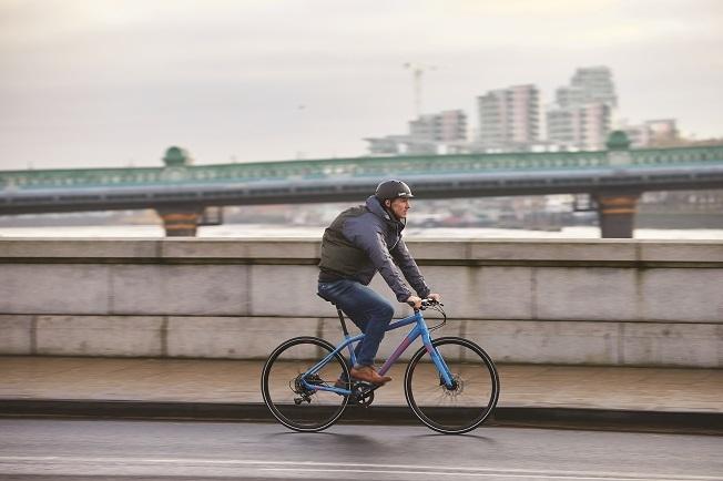 Commuting by bike even when it's raining